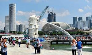 Mukidi Jalan-jalan ke Singapura