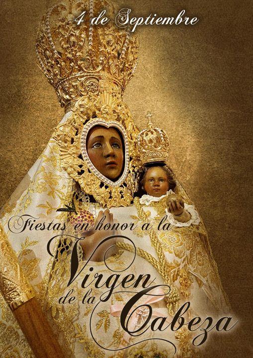 Cartel fiesta Principal Virgen de la Cabeza de Pegalajar 2021