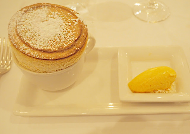 the atlantic restaurant passionfruit souffle