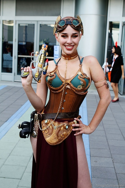 steampunk princess leia steampunk costume star wars