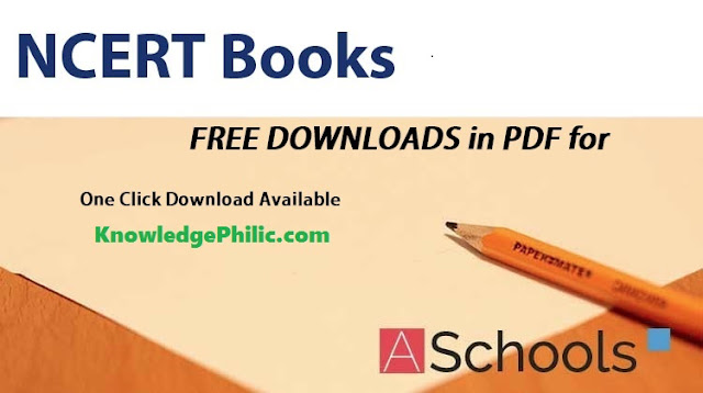 NCERT Books From Class 5 to 12th [All Subject in one Click Free Download]