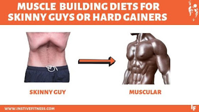 Muscle building diet for hard gainers or skinny guys