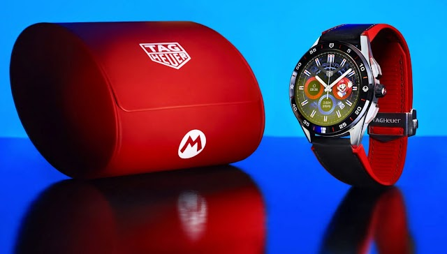 TAG Heuer's Connected Super Mario Will Gamify Your Smart Watch With 90s Nostalgia