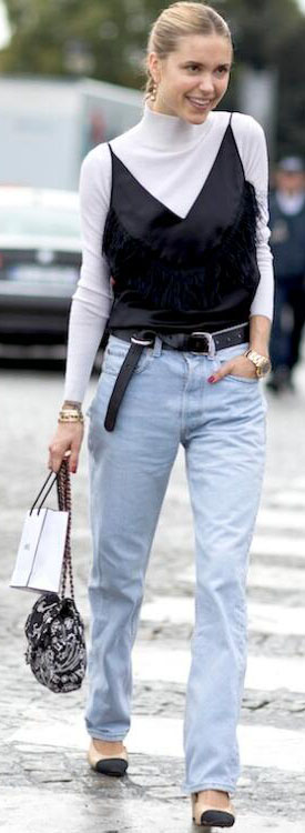 These Gorgeous Street Style Images #StreetStyle