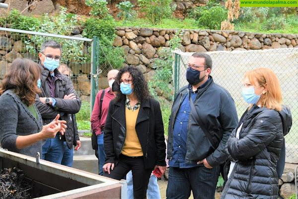 El Cabildo da a conocer el proyecto 'La Palma Orgánica' a la primera corporación grancanaria