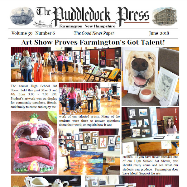 The June Issue of the Puddledock Press is Now Available Online