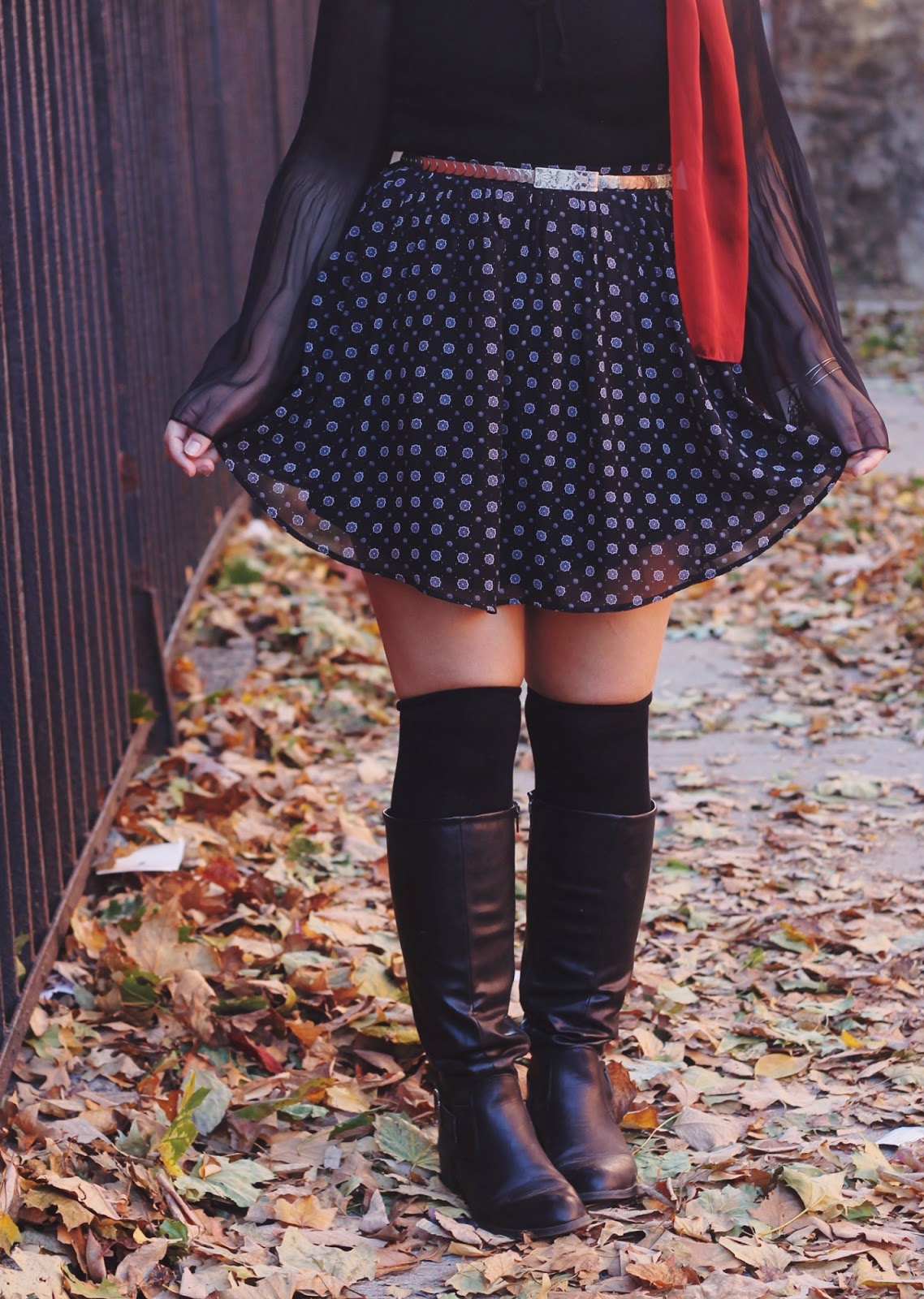 Knee Socks and Boots | Someone Like You