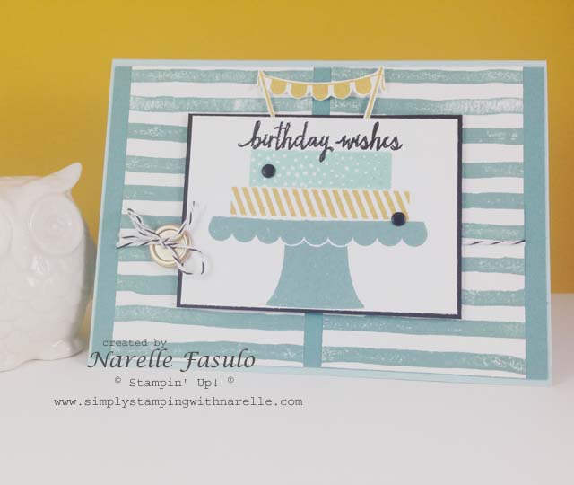 Build a Birthday and Brushtrokes - Simply Stamping with Narelle - http://www3.stampinup.com/ECWeb/default.aspx?dbwsdemoid=4008228