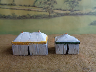 TS 15 Two Medieval tents/marquees