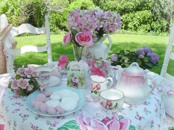 Garden Tea Ideas Inspiration Interior Designs
