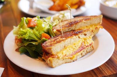 Abaca Baking's Reuben Sandwich