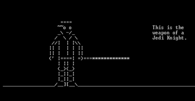 10 Unexpected Microsoft Easter Eggs - ASCII Star Wars