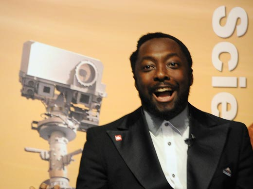 Will.i.am new song Reach for the Stars broadcasted by NASA