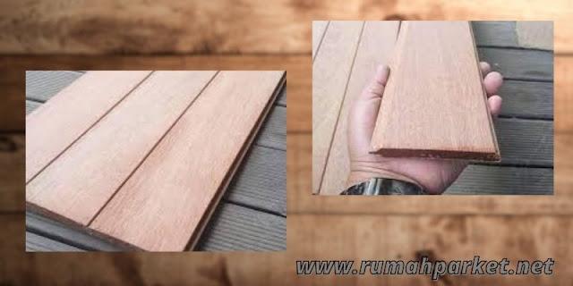 flooring kayu keruing