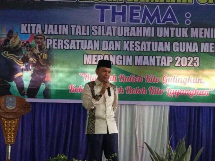 Bupati Kerinci Adirozal Hadiri Halal Bi Halal dan Pelepasan JCH HKK Merangin