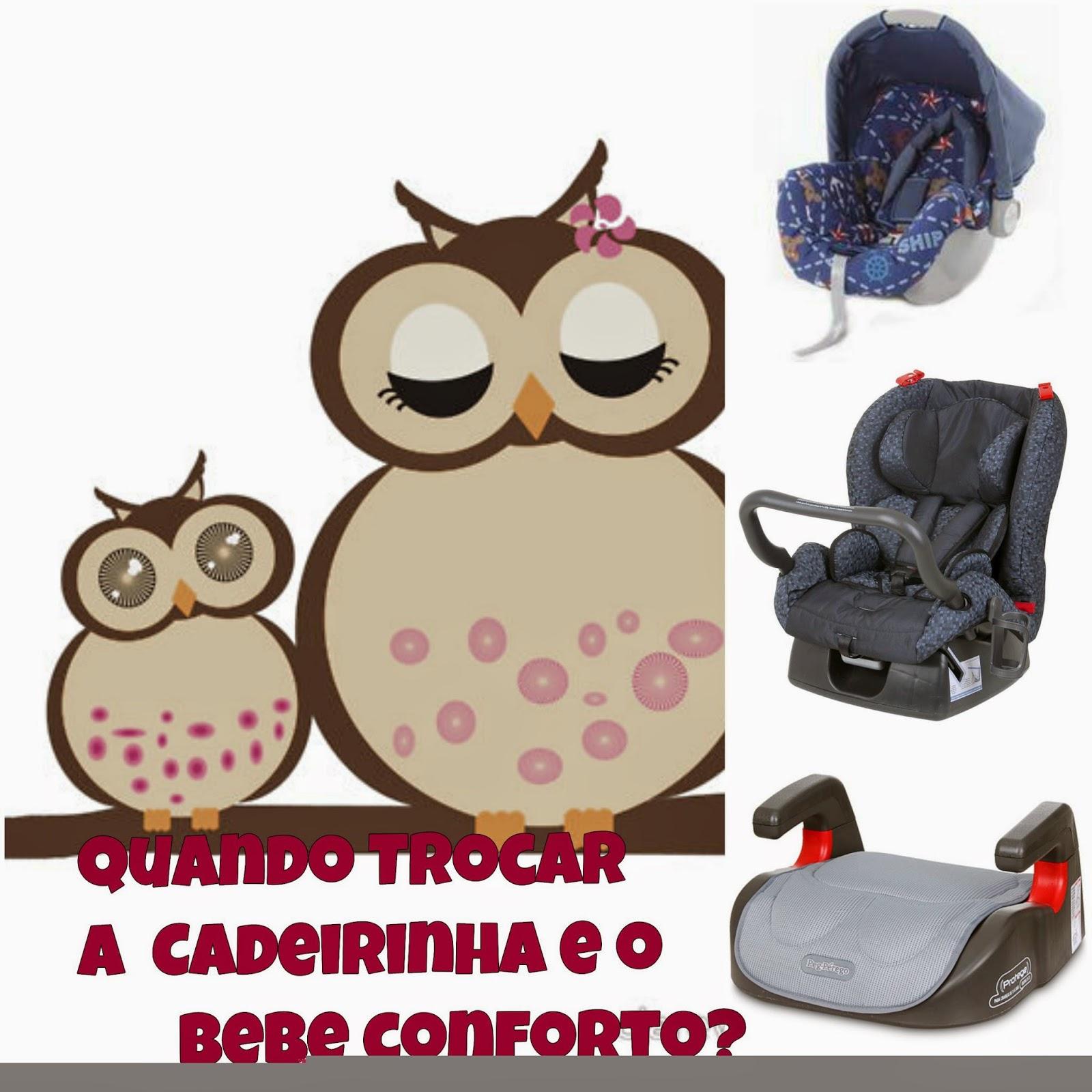 Quando Trocar a Cadeirinha  e o bebê conforto dos bebês?