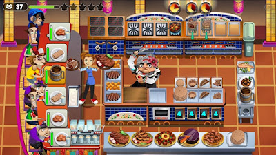 Cooking Dash 2016 for android v1.24.18 Mod Apk (Unlimited Coins/Gold)