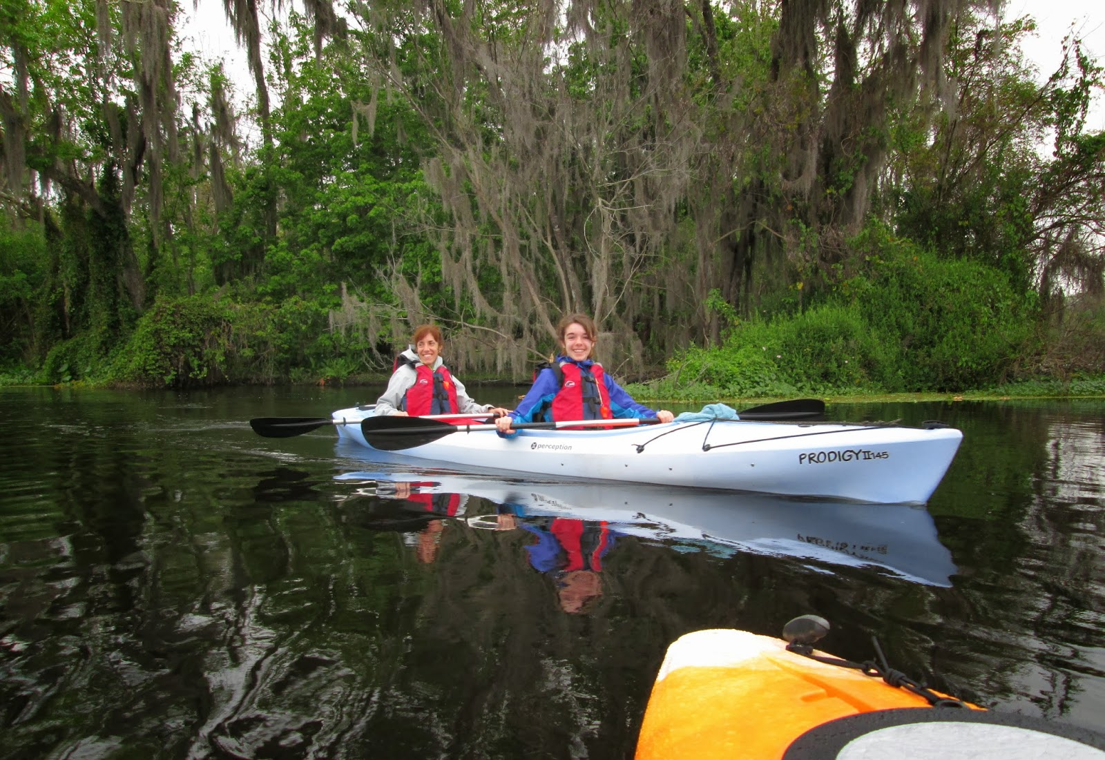 Canoeing around redhead fl interesting question