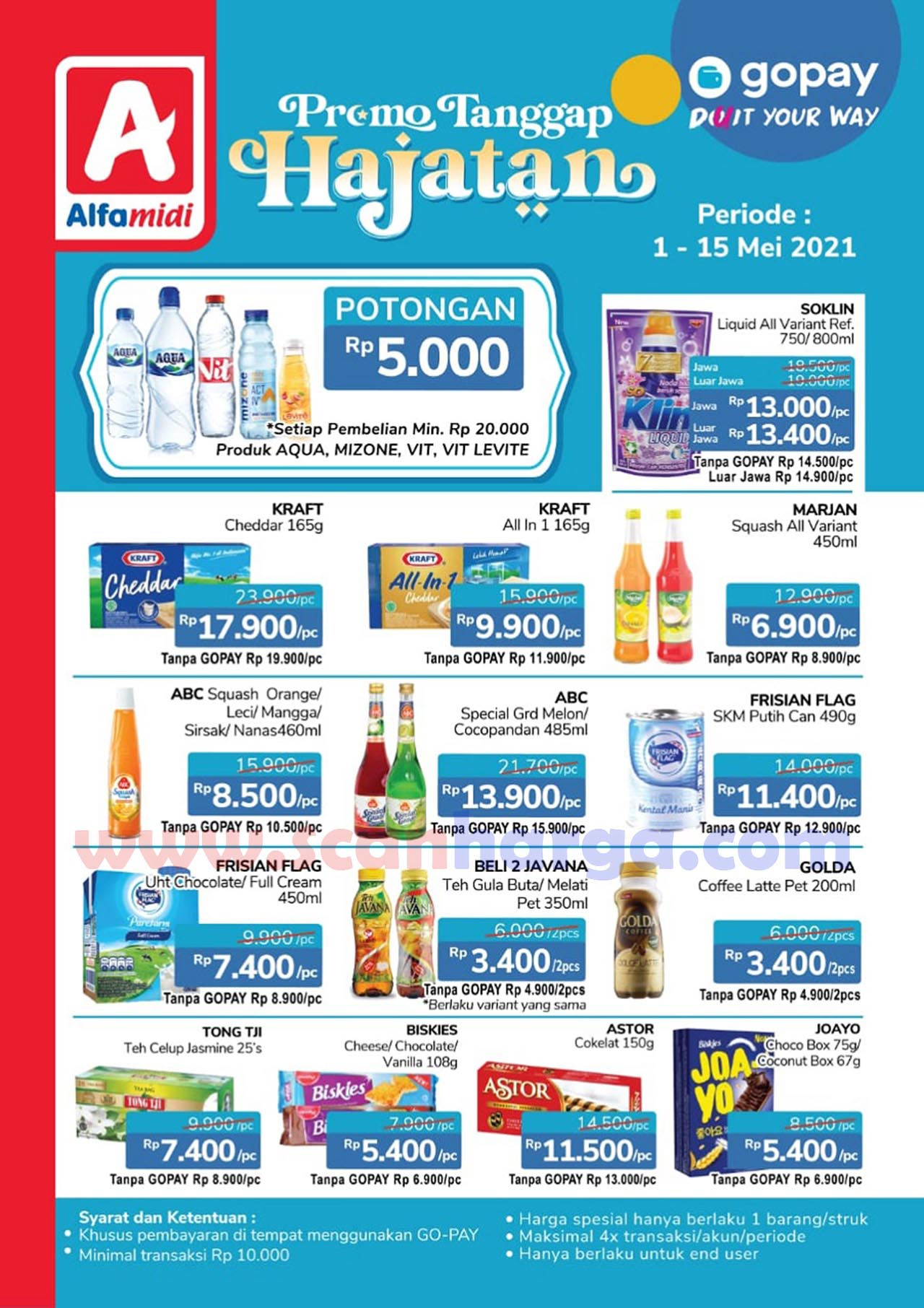 Promo Alfamidi Hajatan GOPAY Periode 1 - 15 Mei 2021 2