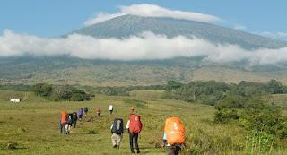 Jalur Pendakian Gunung di Bandung