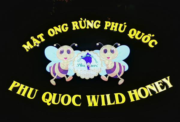 Thi công bảng hiệu Mica đèn Led Mật ong rừng Phú Quốc