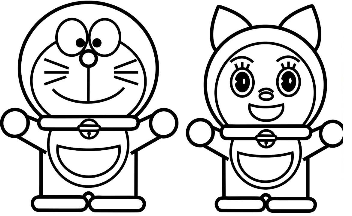 Kumpulan Gambar Mewarnai Kartun Doraemon Terbaru – Cuitan Dokter