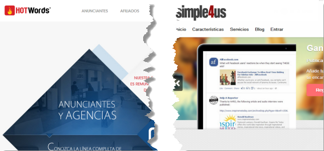 Diferenicas entre Hotwords y Simple4Us
