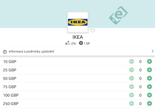 IKEA Velká Británie eVoucher - Cashback World - milanrericha.cz