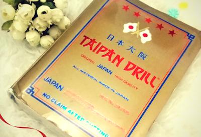 REVIEW PRODUK : TAIPAN DRILL