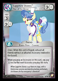 My Little Pony Sapphire Shores, Star of the Show Equestrian Odysseys CCG Card