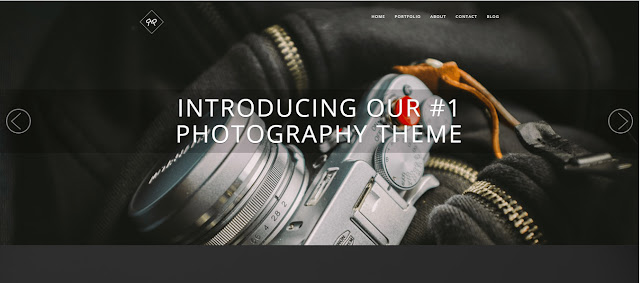 Rokophoto Premium wordpress theme for photography