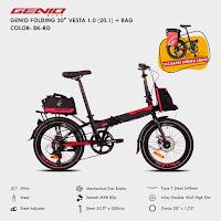 Sepeda Lipat Genio Vesta 1.0 Folding Bike