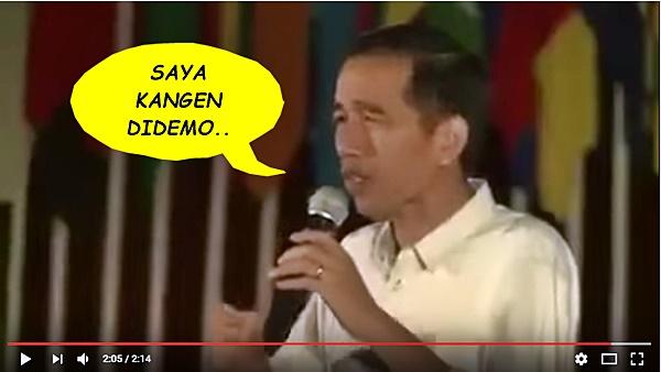 Doa Jokowi yang Terkabul