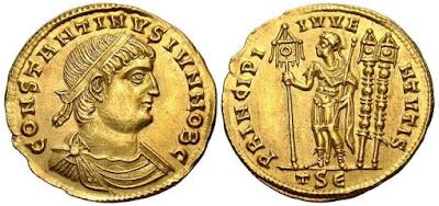 Solidus Moneda del Imperio Bizantino