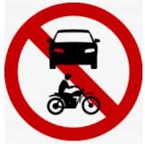 kendaraan bermotor dilarang rambu lalu lintas