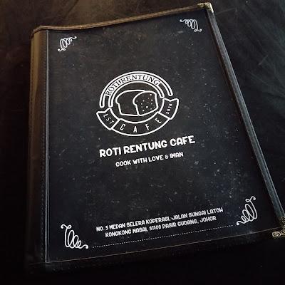 MAKAN DI ROTI RENTUNG CAFE