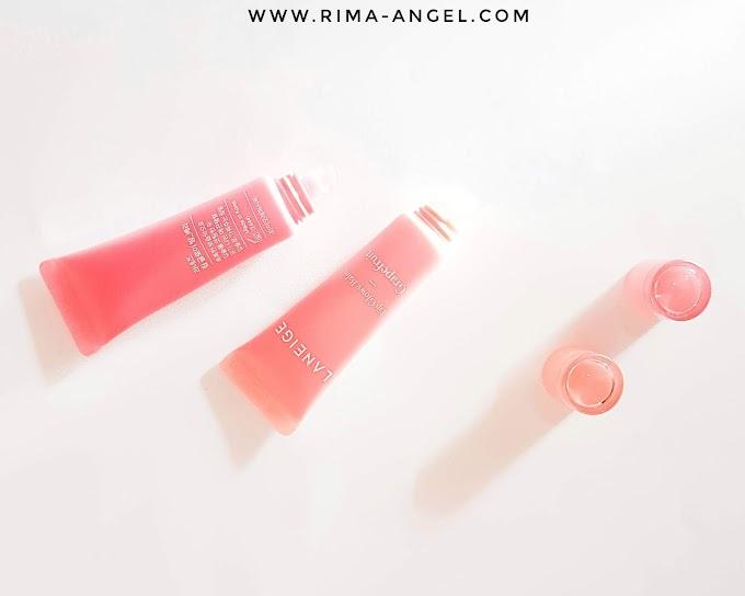 Review Laneige Lip Glowy Balm - Berry & Grapefruit