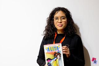 Natacha Bustos en Heroes Comic Con Valencia