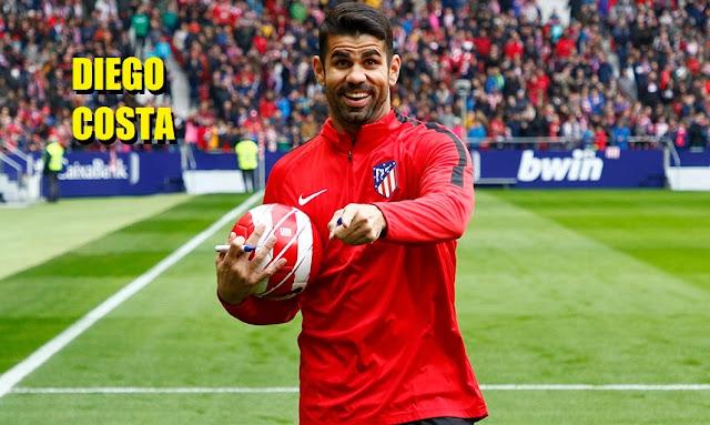 Diego Costa es presentado en el Metropolitano
