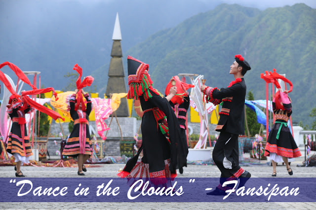 """DANCE IN THE CLOUDS"" - Art show in Fansipan peak, Sapa"