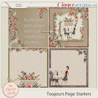 Toujours Page Starters