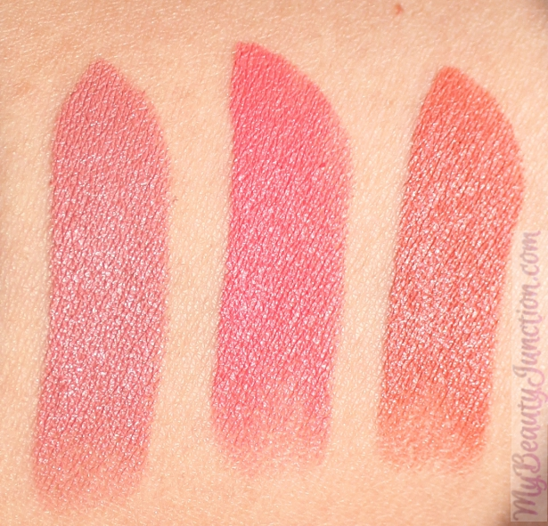 NARS Audacious Lipsticks review, swatches: Jane, Natalie, Anita ...