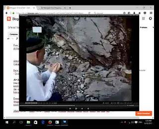Air Mengalir Dari Pegunungan Setelah Dibacakan Ayat Al-Quran