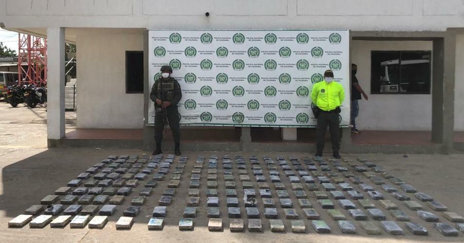 hoyennoticia.com, Hallan 200 kilos de coca en la Alta Guajira