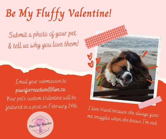 Looking for February featured pets: Submit your pet to be featured in a custom Valentine