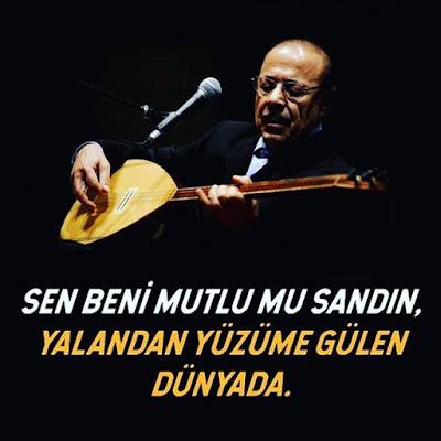 neşet ertaş, saz, sanatçı, türk halk müziği, konser, mikrafon, güzel sözler, özlü sözler, anlamlı sözler, yalan dünya, mutluluk,