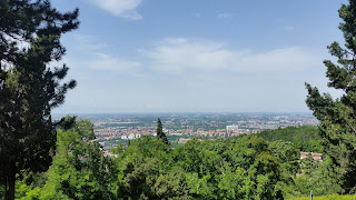 Traveling: Bologna baby! View from Santuario Madonna di San Luca