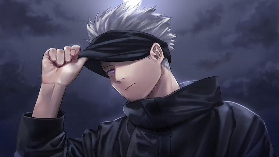 Jujutsu Kaisen, Satoru Gojo, Anime, 4K, #3.2762