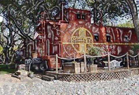 An old-fashioned 9 railroad caboose bed-n-breakfast accommodation is available by the side of the Clear Lake shore in northern California. All the 9 rooms are dissimilar in appearance. There is a TopiCaboose, a Casablanca themed cabin and a new Orleansbordello Caboose.