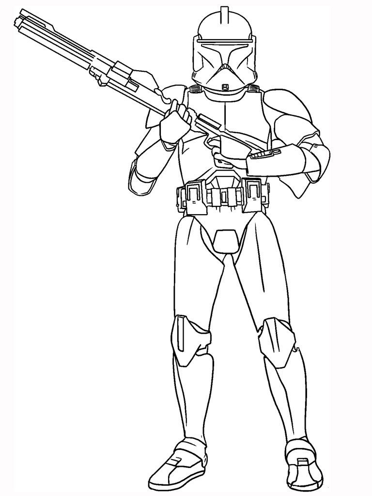 free coloring pages and star wars | Free Printable Star Wars Coloring Pages - Free Printable ...